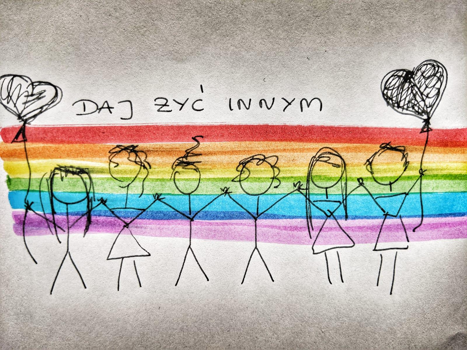 LGBT+. Żyj i daj żyć innym!